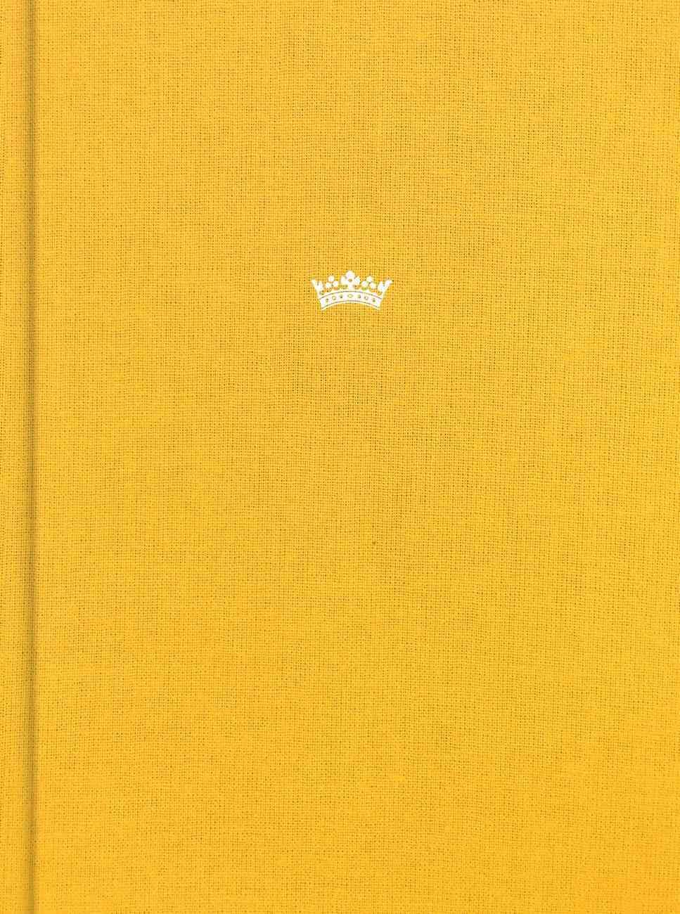 CSB Tony Evans Study Bible Goldenrod Indexed (Black Letter Edition) Fabric Over Hardback
