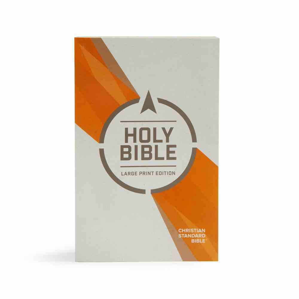 CSB Outreach Bible Large Print Edition Paperback