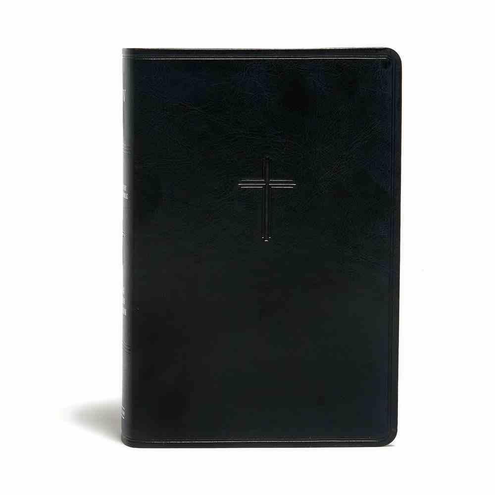 KJV Everyday Study Bible Charcoal Imitation Leather