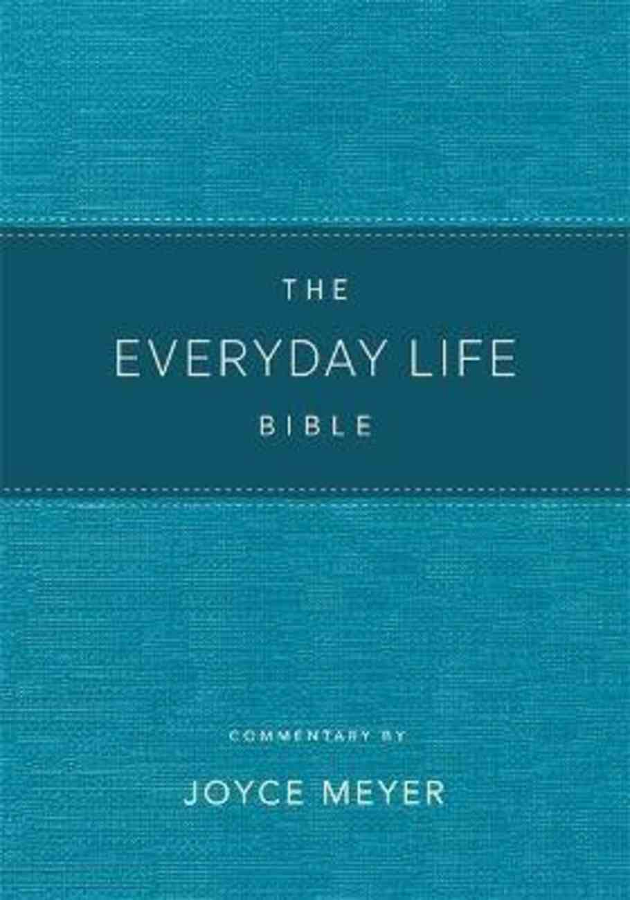Amplified Everyday Life Bible, the Teal Bonded Leather