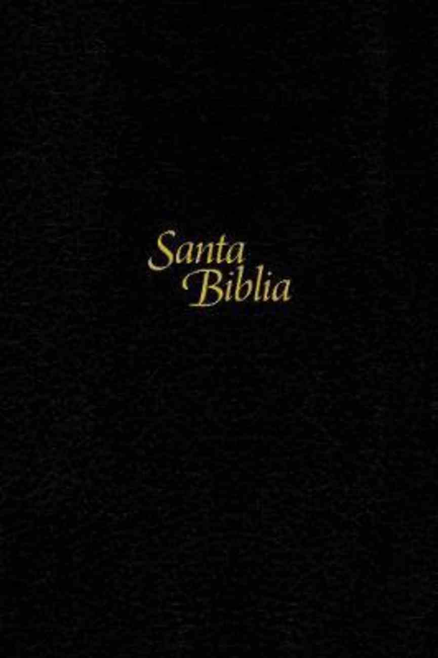 Ntv Santa Biblia Edicion Personal Letra Grande Negro (Red Letter Edition) (Large Print Bible Black) Hardback