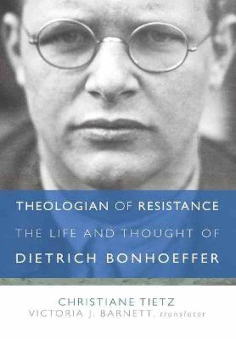 Theologian of Resistance Hardback