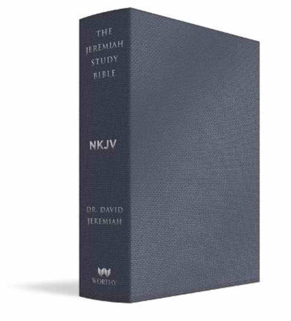 NKJV Jeremiah Study Bible, the Indexed Majestic Black Bonded Leather