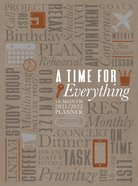 2022 18 Month Planner: A Time For Everything (Faux Ziparound) image