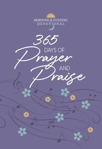 Product: 365 Days Of Prayer And Praise Image