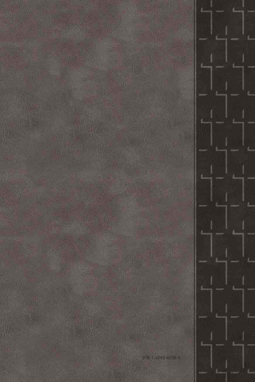 TPT New Testament Large Print Gray (With Psalms, Proverbs And The Song Of Songs) Imitation Leather