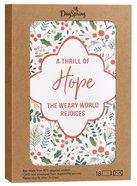 Christmas Boxed Cards: Thrill of Hope Good Steward (Romans 15:13 Kjv) Box