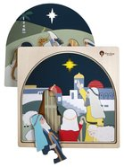 Christmas Jigsaw Puzzle: Nativity, 4 Engaging Layers of Primium Wood, Gift Boxed (35 Pieces) General Gift