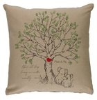 Pillow Organic Beige (Aco Certified Organic Cotton) (Above All Keep Loving 1 Peter 4: 8) (Australiana Products Series) Homeware