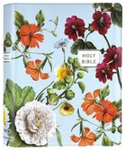 NIV Artisan Collection Bible Blue Floral (Red Letter Edition) Premium Imitation Leather