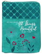 2022 18 Month Planner: All Things Beautiful (Faux Ziparound) image