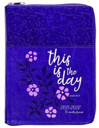 2022 18 Month Planner: This Is The Day (Faux Ziparound) image