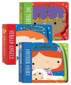 Nativity Mini Board Book Stack (Set Of 3): Mother Mary, Herald Angels, We Three Kings
