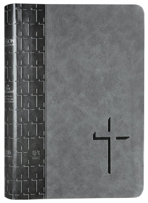 Product: Tpt New Testament (2020 Edition) Large Print Grey Image
