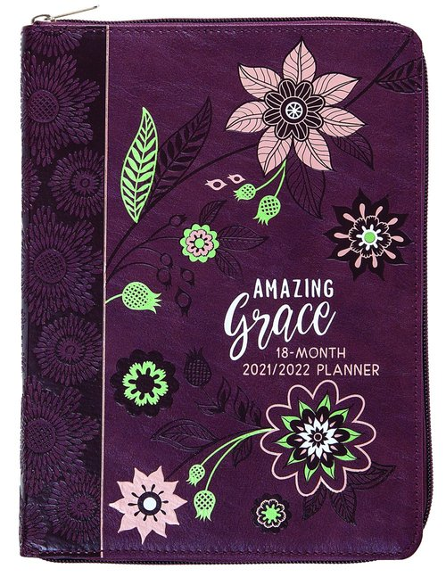 Product: 2022 18 Month Planner: Amazing Grace (Faux Ziparound) Image