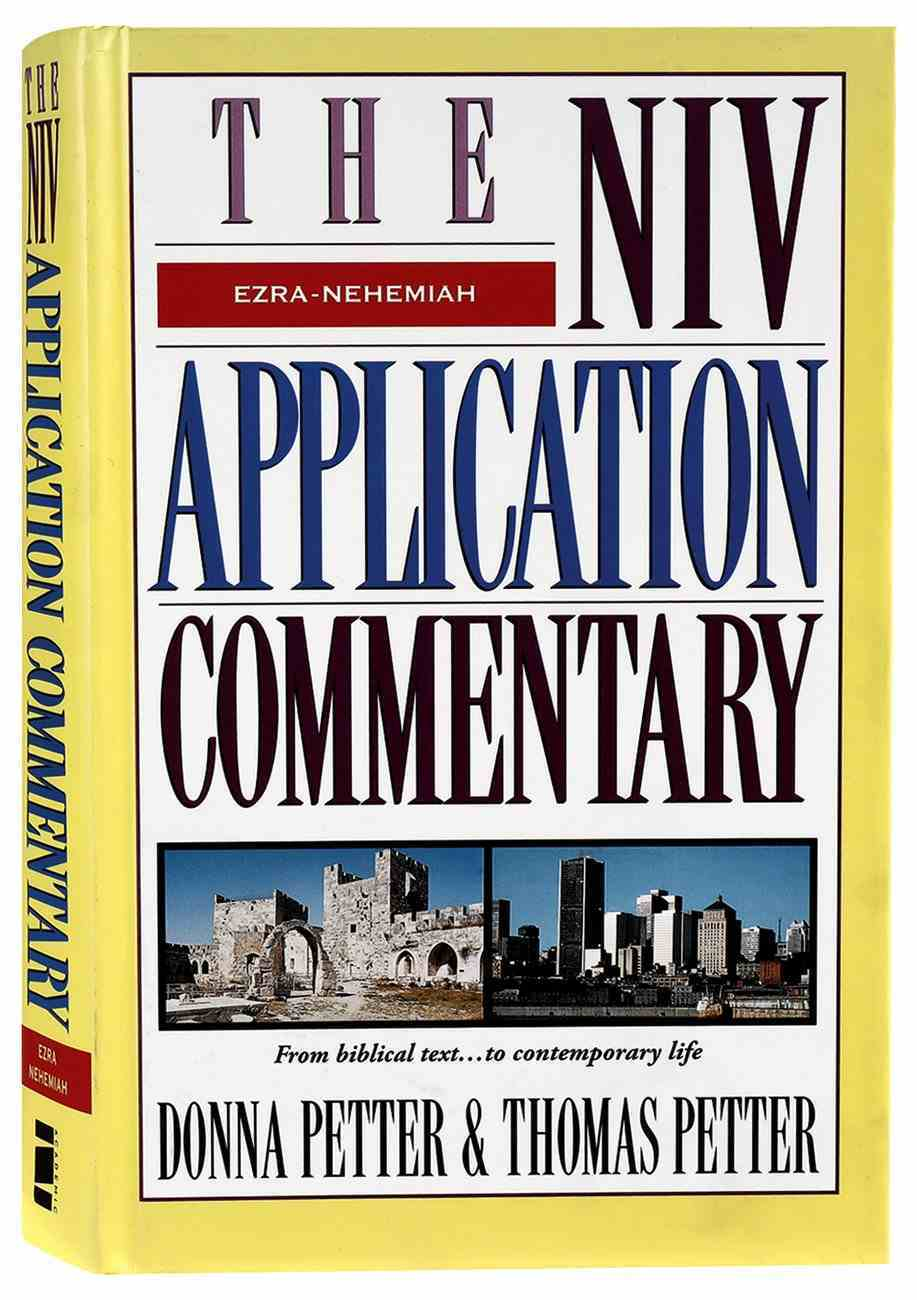 Ezra Nehemiah (Niv Application Commentary Series) Hardback
