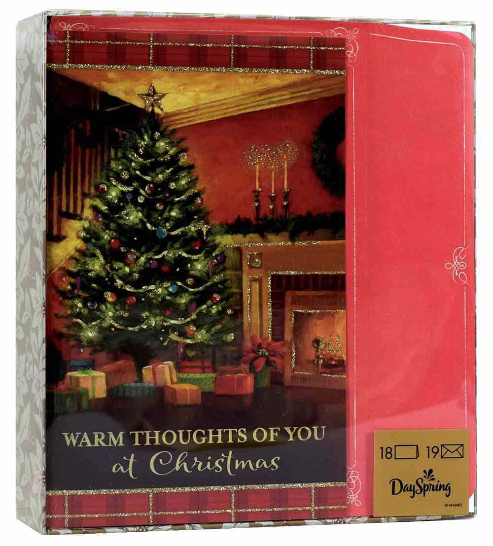 Christmas Boxed Cards: Warm Thoughts (2 Cor. 13:11 Kjv) Box