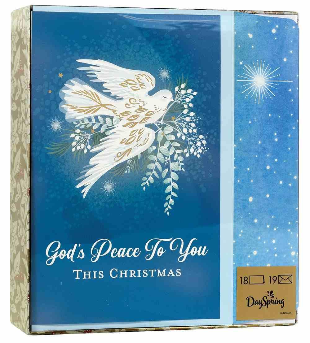 Christmas Boxed Cards: God's Peace Dove (John 1:14 Kjv) Box