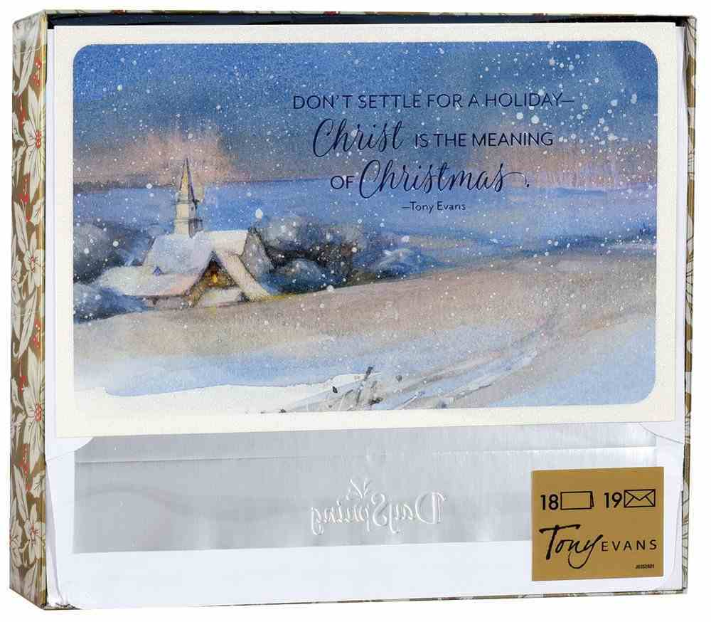 Christmas Boxed Cards: Christ is the Meaning (Titus 2:11 Csb) Box