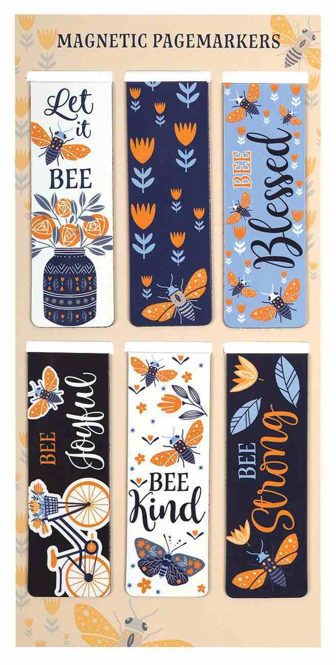 Bookmark Magnetic: Let It Bee (Set Of 6) Stationery