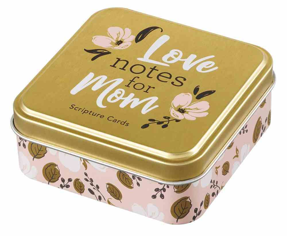 Scripture Cards in Tin: Love Notes For Mum, 50 Double-Sided Cards Box