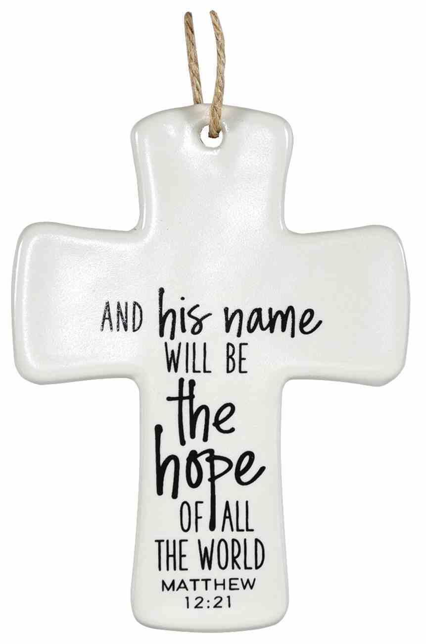 Cross Ornament: The Hope Homeware