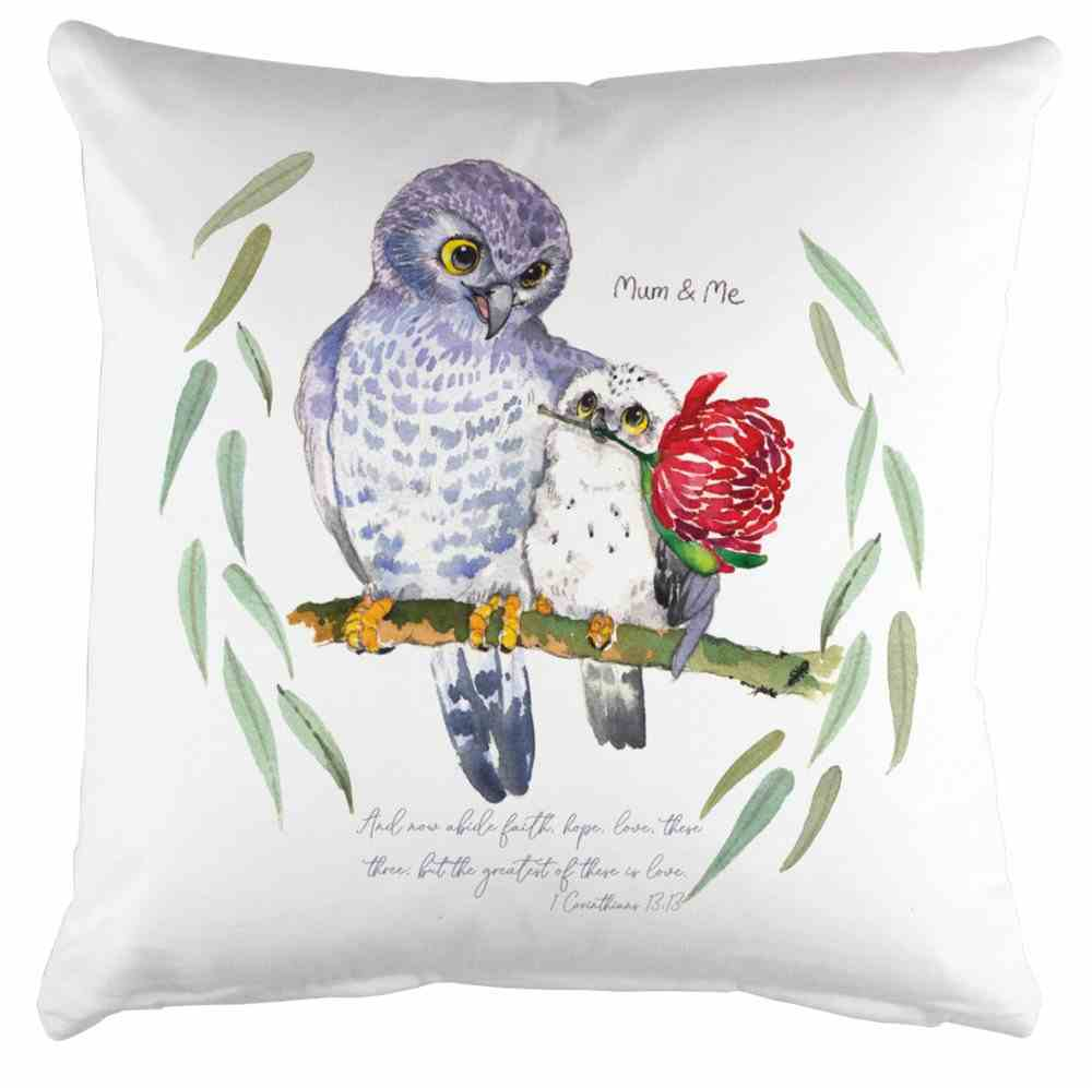 Pillow Organic White (Aco Certified Organic Cotton) (And Now Abide 1 Cor 13: 12) (Australiana Products Series) Homeware