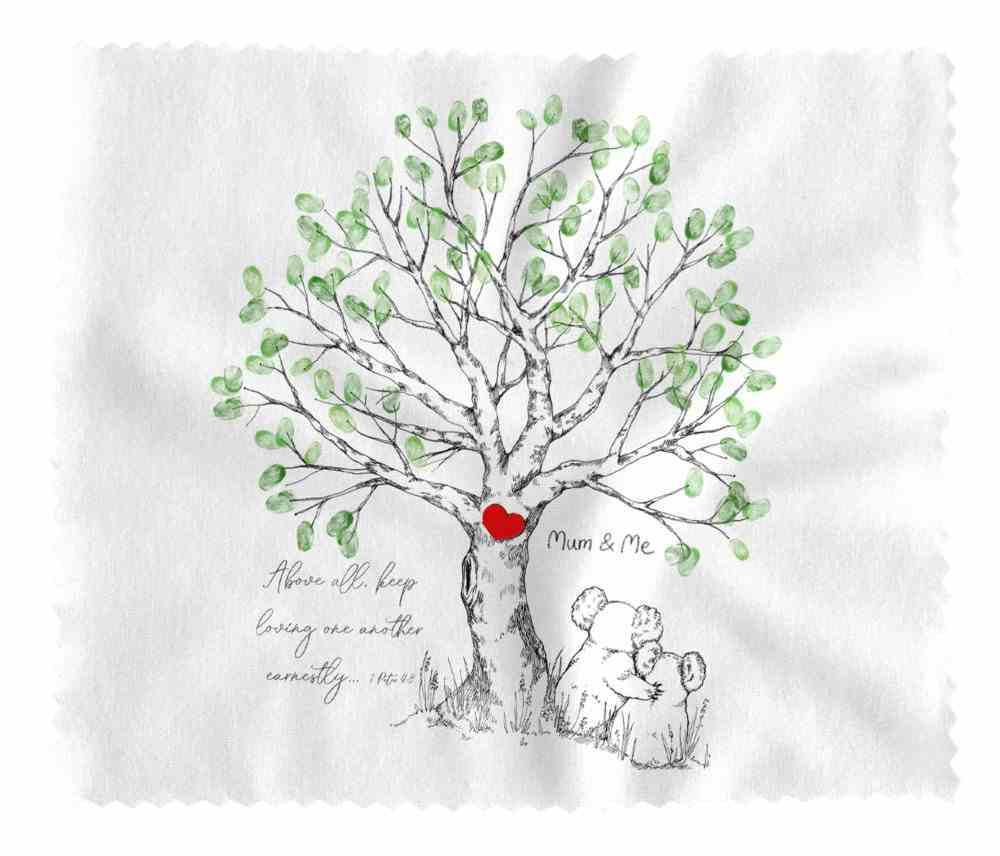 Lens Cloth (Above All Keep Loving 1 Peter 4: 8) (Australiana Products Series) Homeware