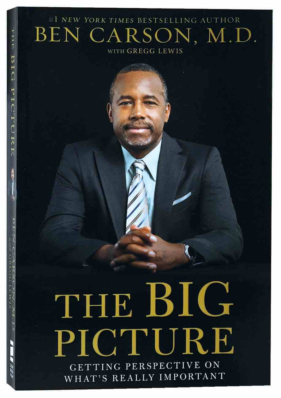 The Big Picture: Getting Perspective on What's Really Important Paperback