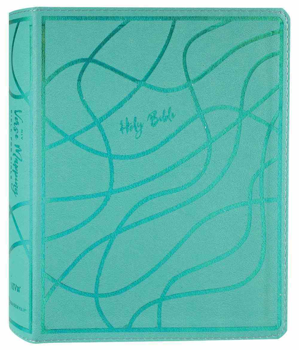 NIV Verse Mapping Bible For Girls Teal Premium Imitation Leather