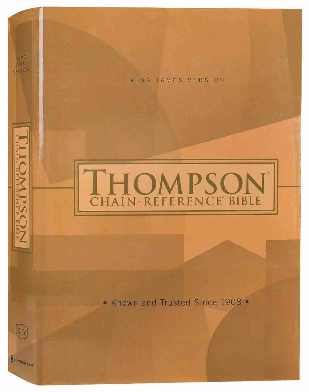 KJV Thompson Chain-Reference Bible (Red Letter Edition) Hardback