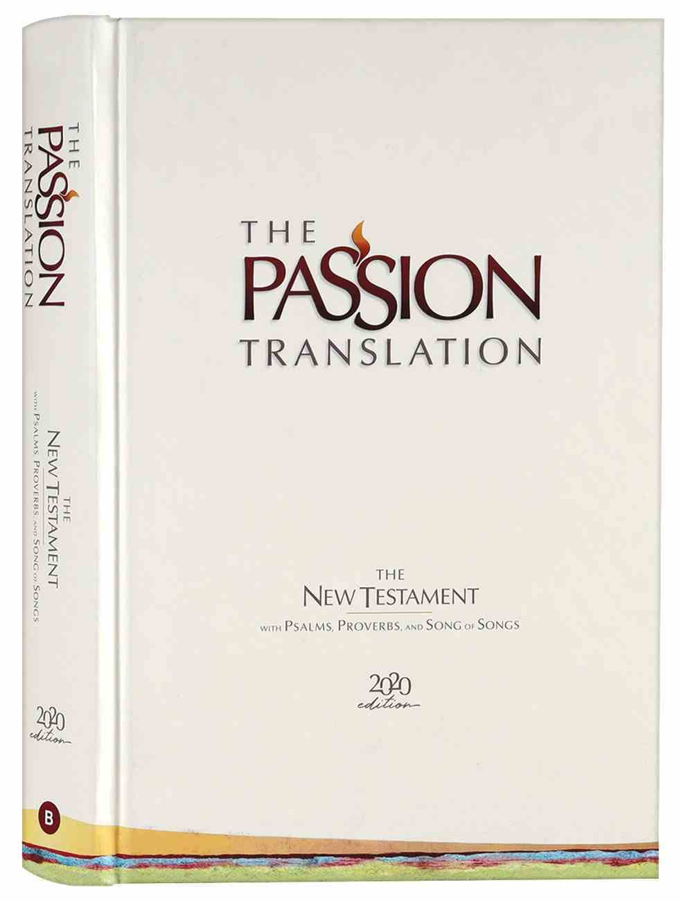 TPT New Testament Ivory (Black Letter Edition) (With Psalms, Proverbs And The Song Of Songs) Hardback