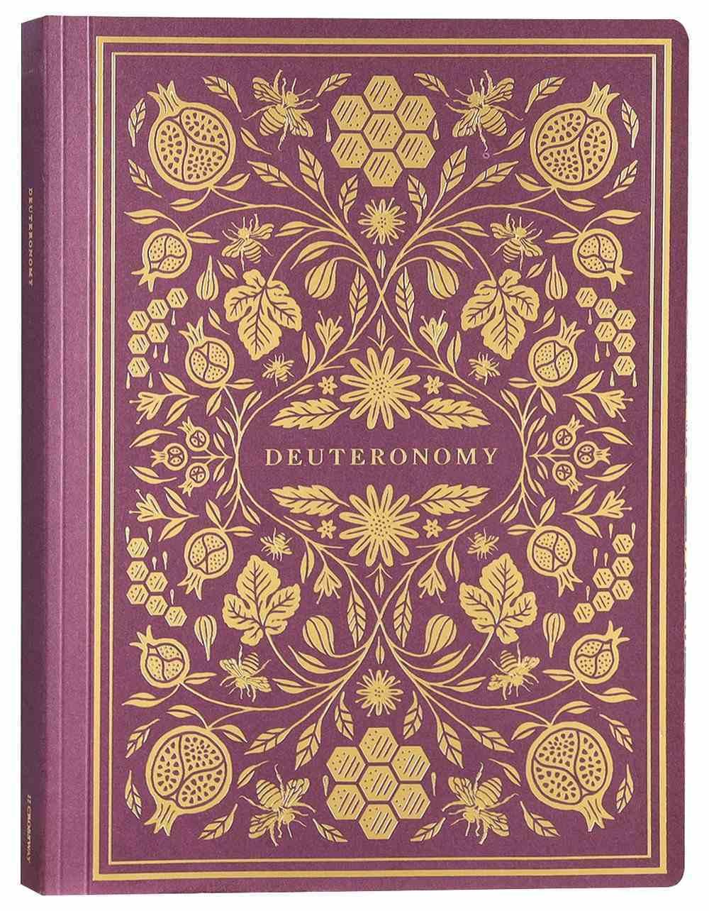 ESV Illuminated Scripture Journal Deuteronomy (Black Letter Edition) Paperback