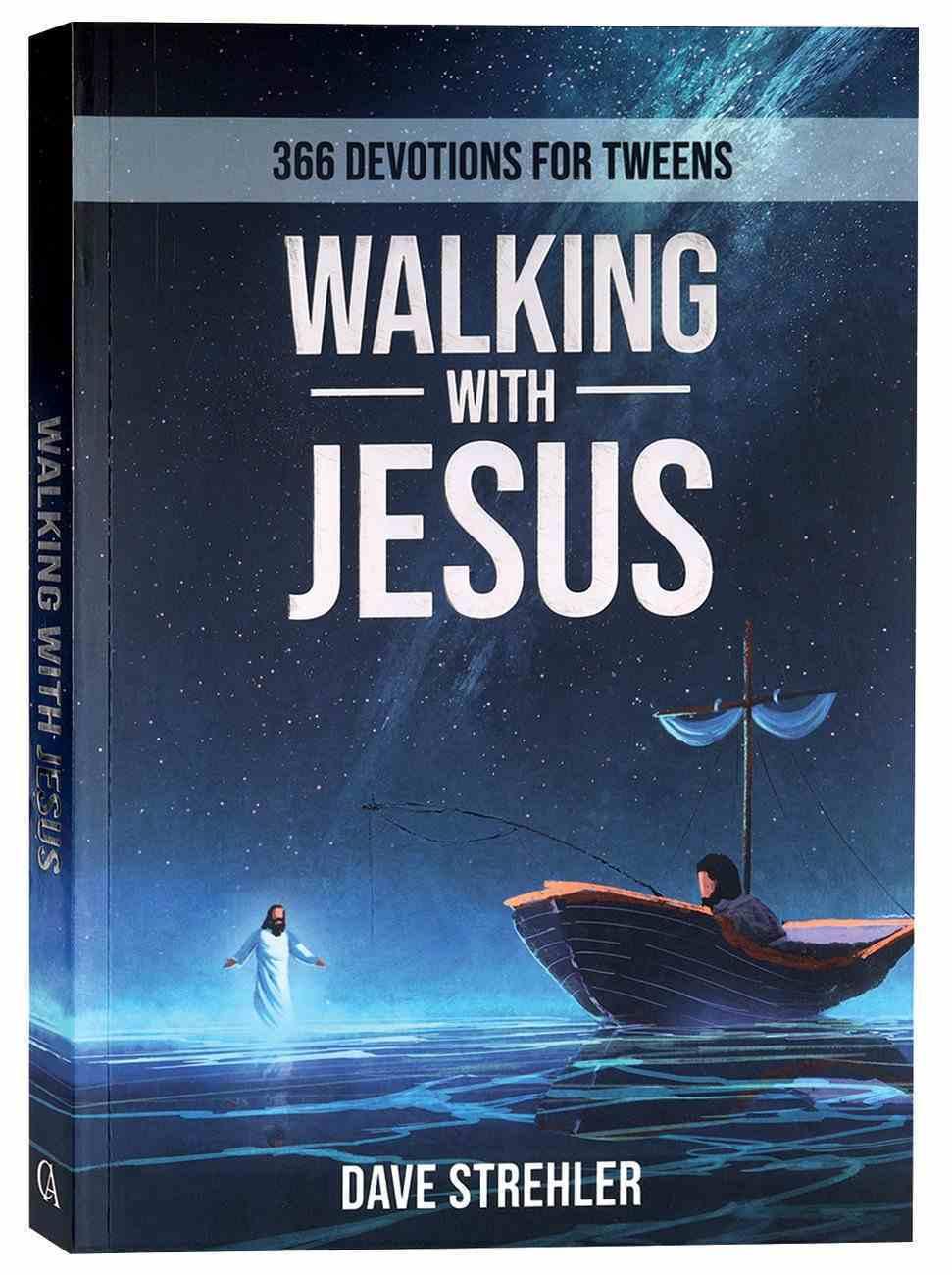 Walking With Jesus: 365 Devotions For Tweens Paperback