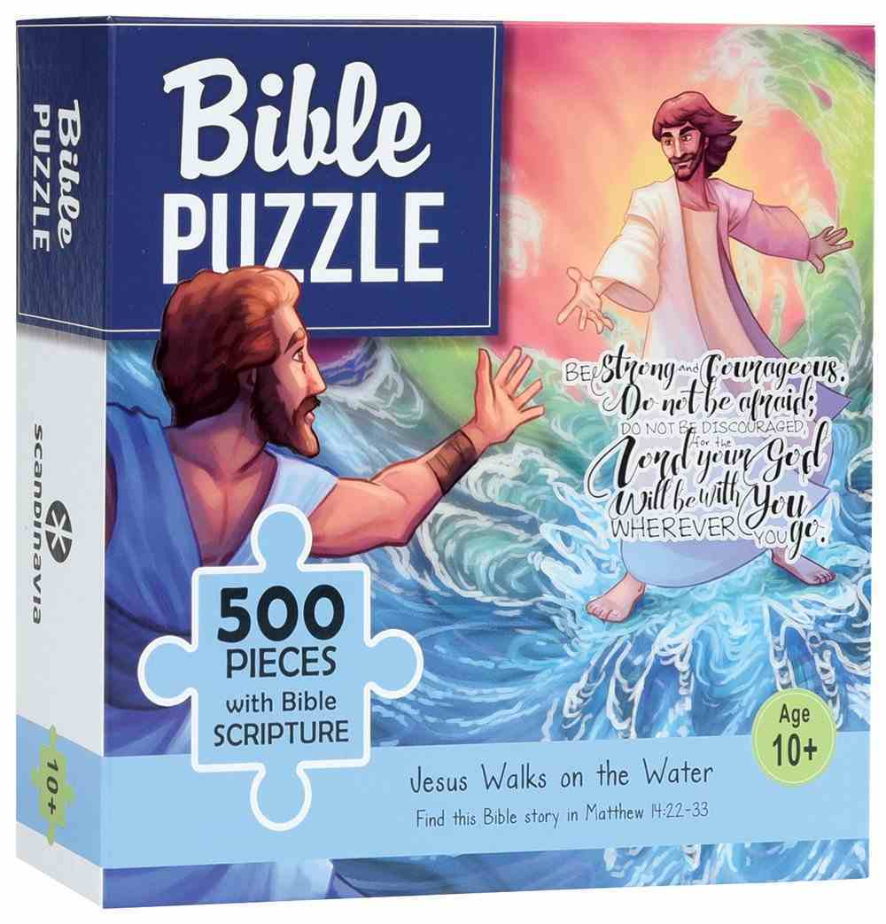 Bible Jigsaw Puzzle: Jesus Walks on Water (500 Pieces) Game