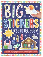 Big Stickers For Little Hands: Nativity image