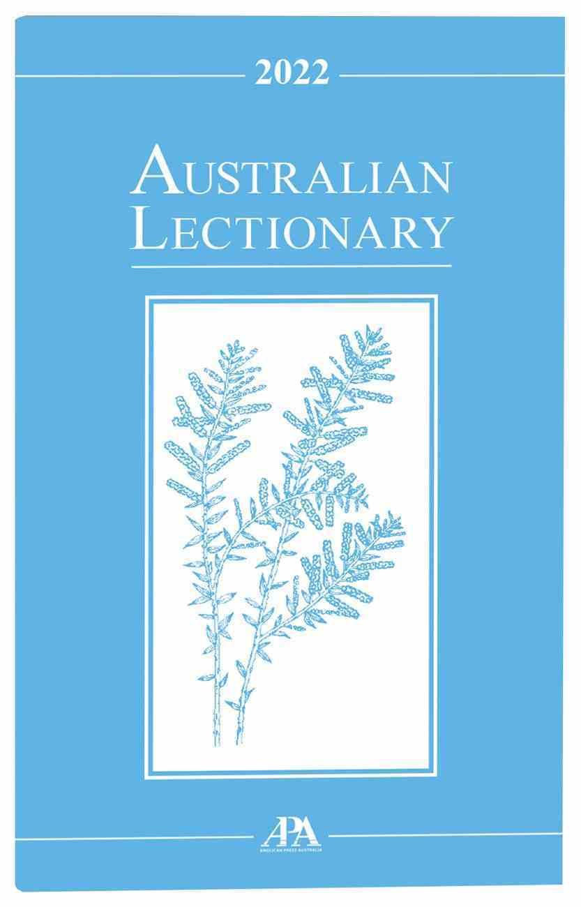 2022 Australian Lectionary An Australian Prayer Book (Year C) Paperback