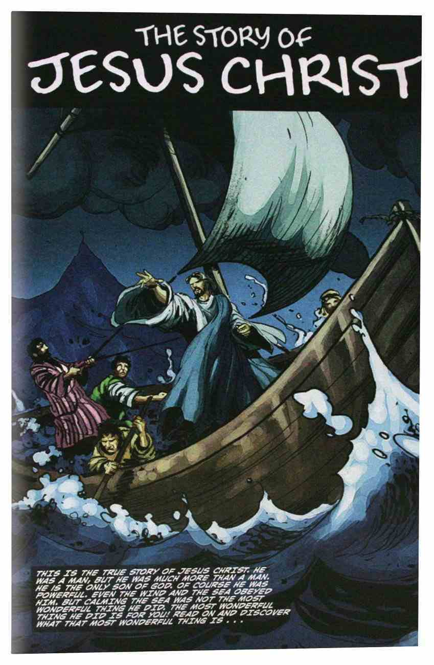 The Story of Jesus Christ (Graphic Novel) Paperback