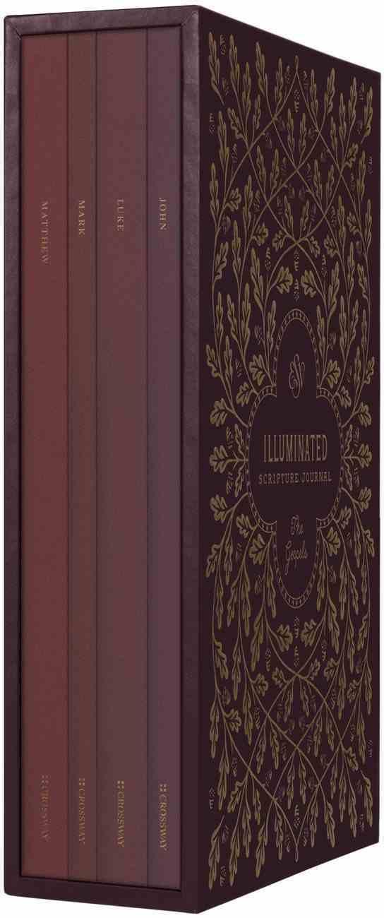ESV Illuminated Scripture Journal: Gospels Set (Black Letter Edition) Paperback
