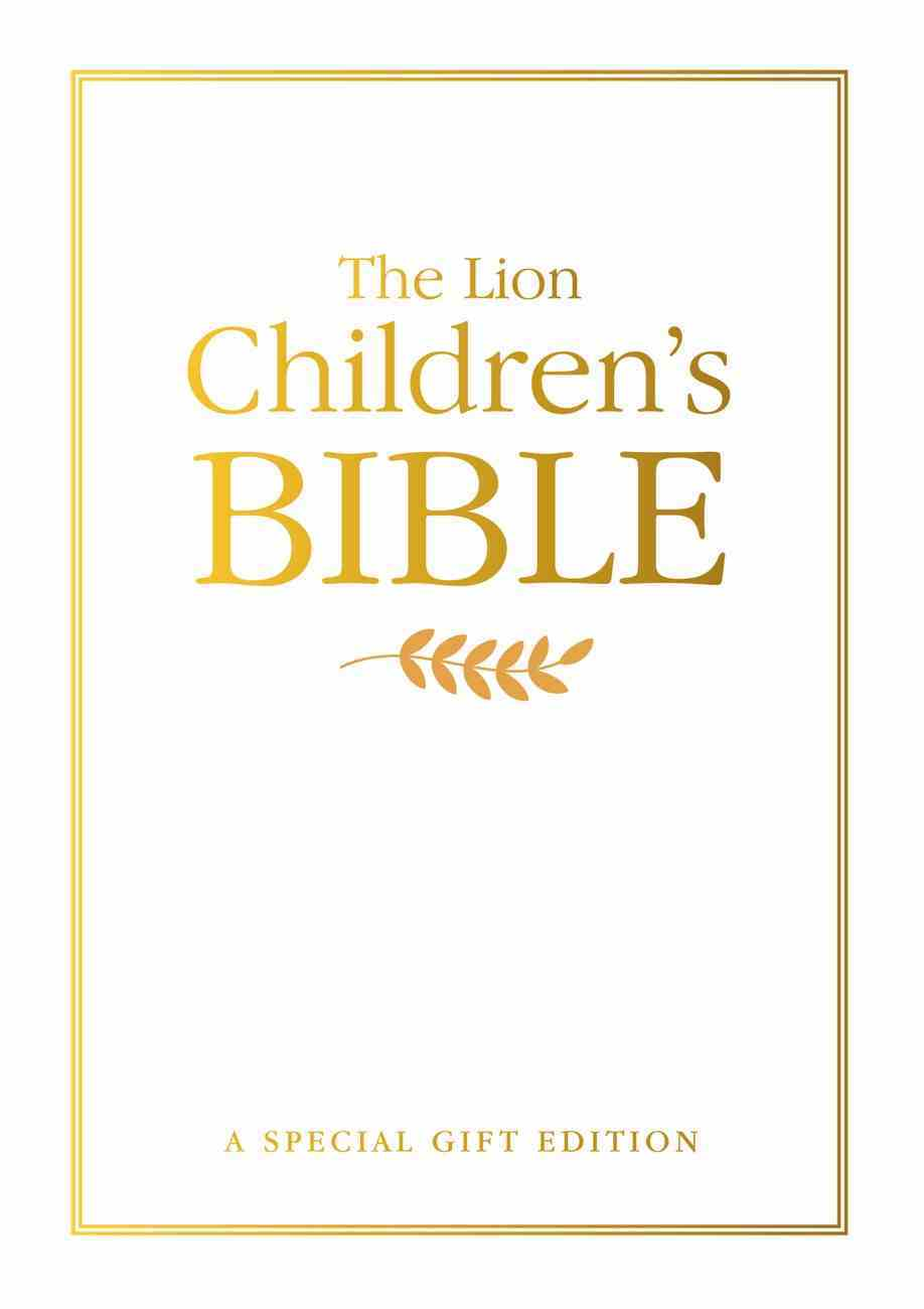 The Lion Children's Bible: A Special Gift Edition Hardback