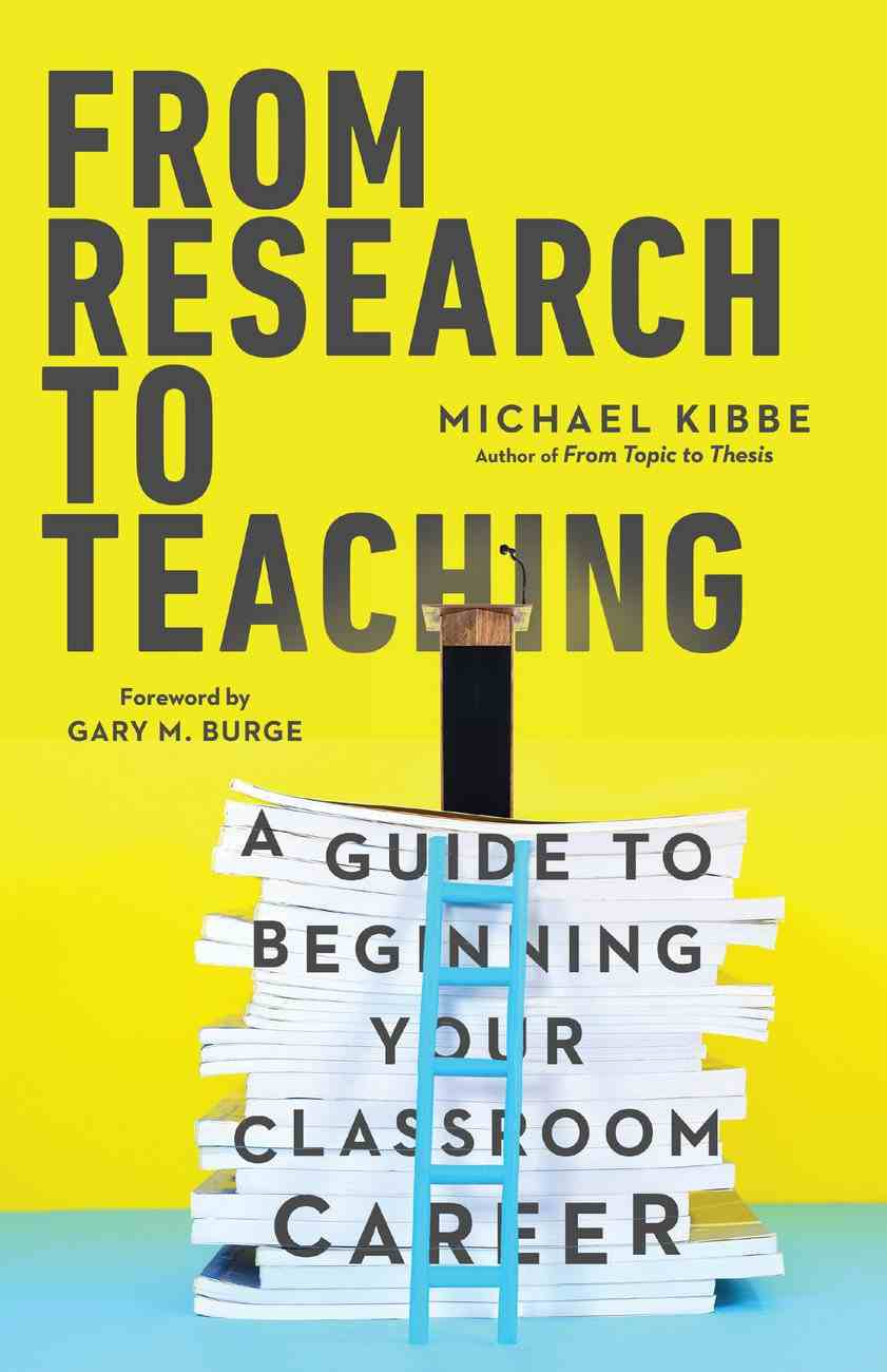 From Research to Teaching eBook