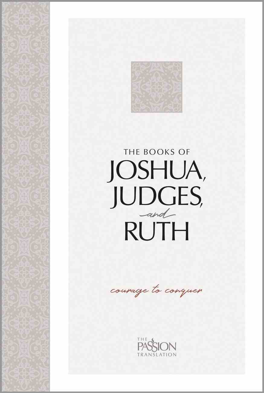 TPT Books of Joshua, Judges, and Ruth eBook