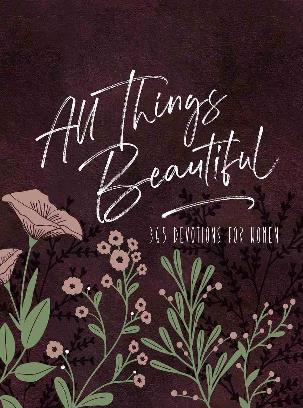 All Things Beautiful Ziparound Devotional eBook