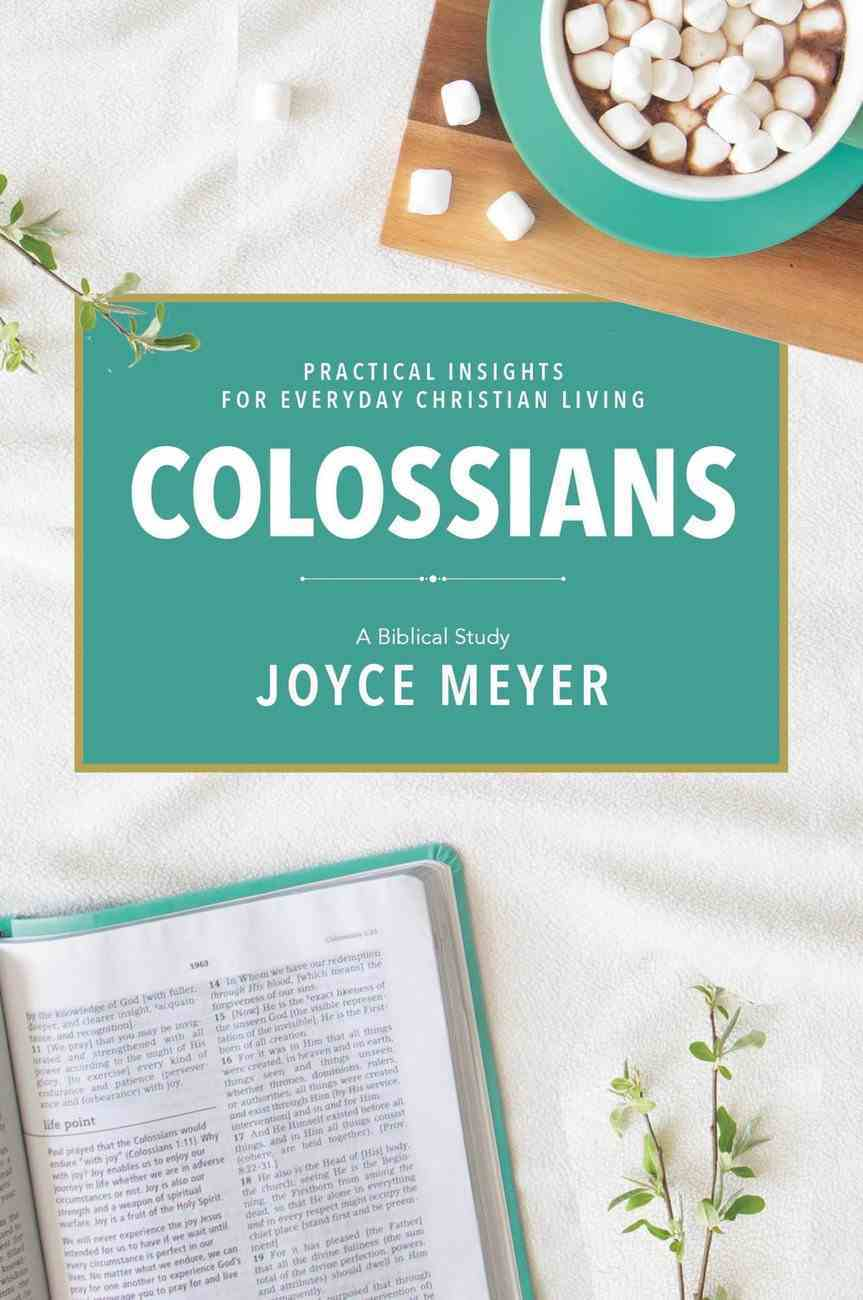 Colossians (Deeper Life Biblical Study Series) eBook