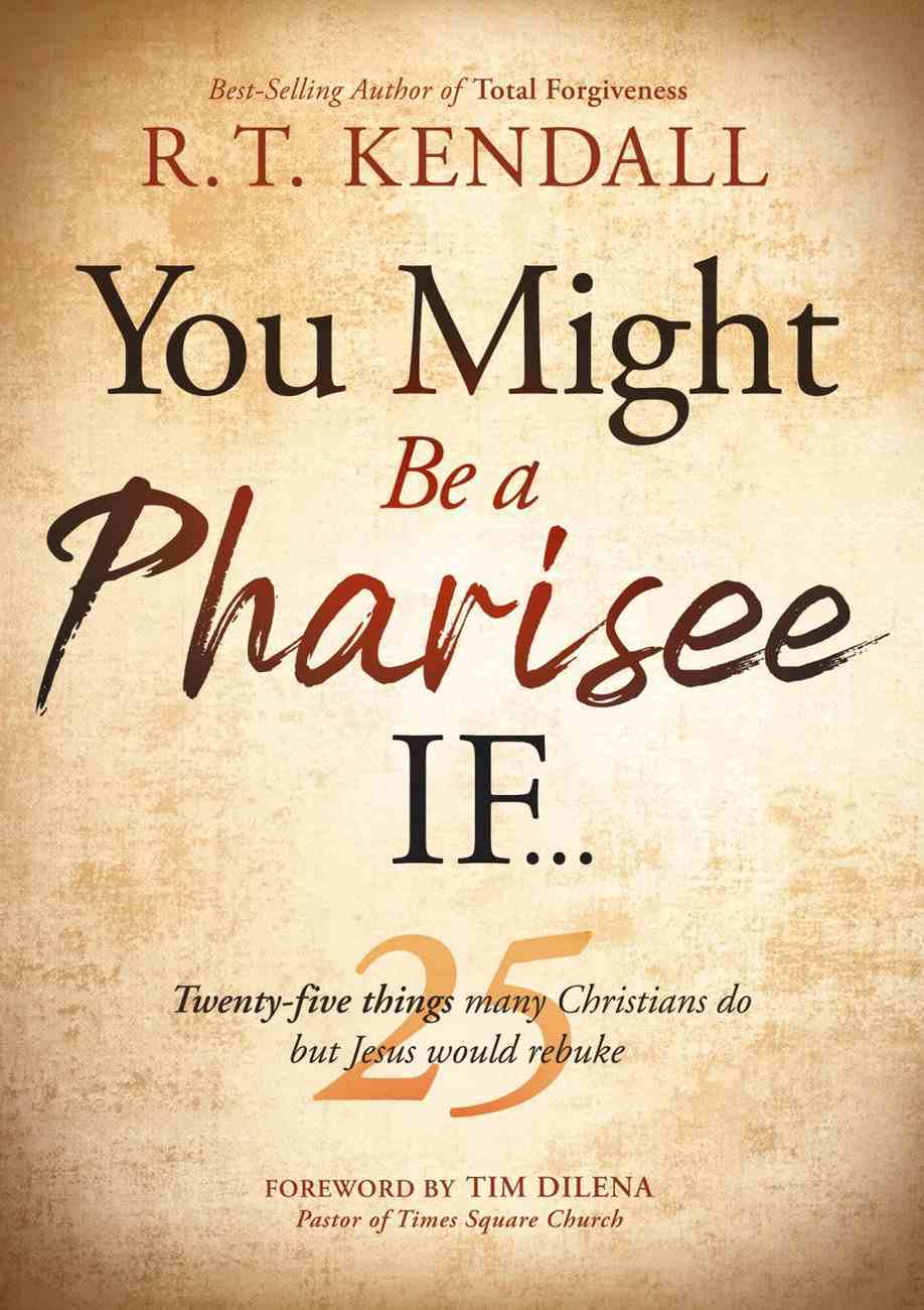 You Might Be a Pharisee If... eBook