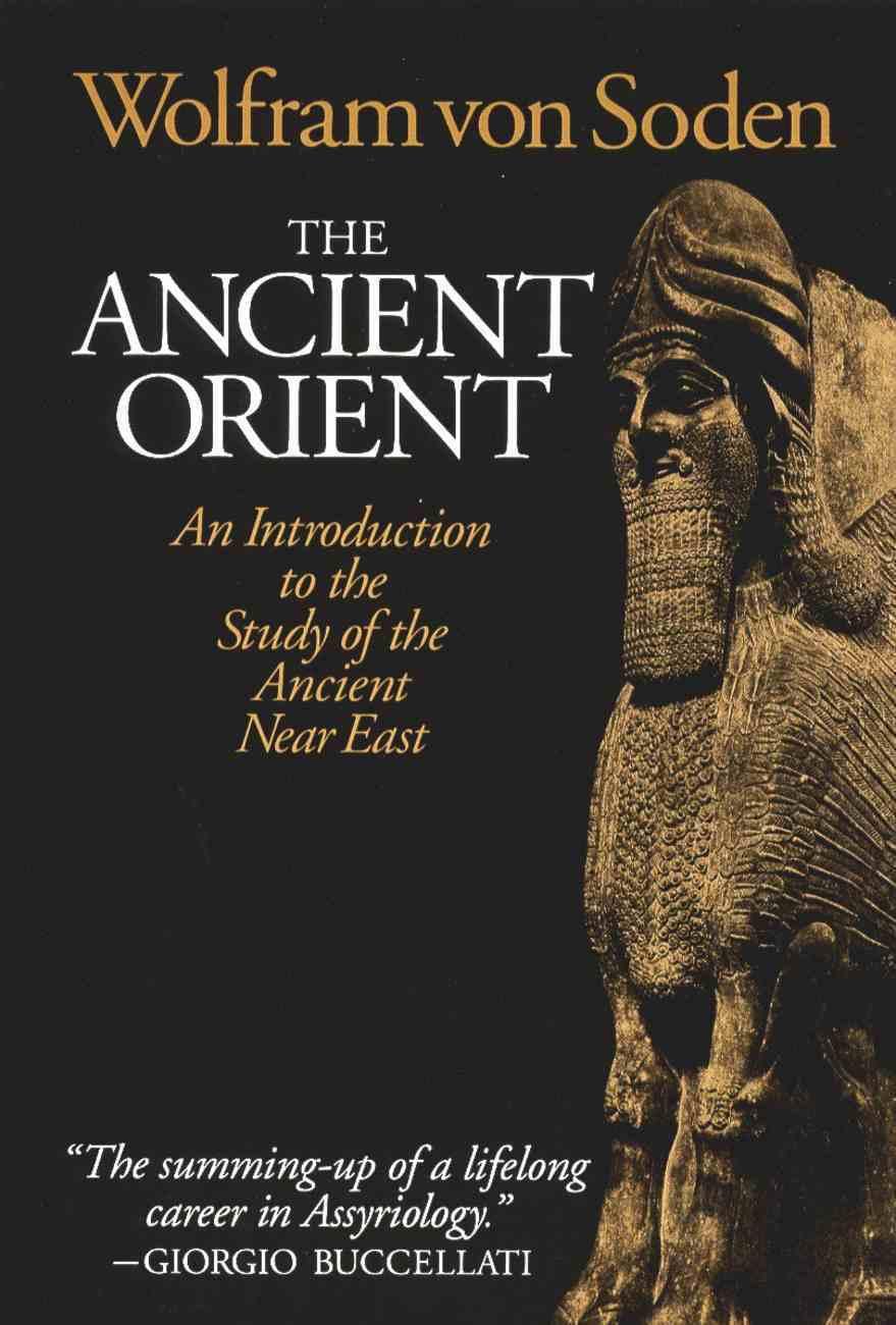 The Ancient Orient Paperback