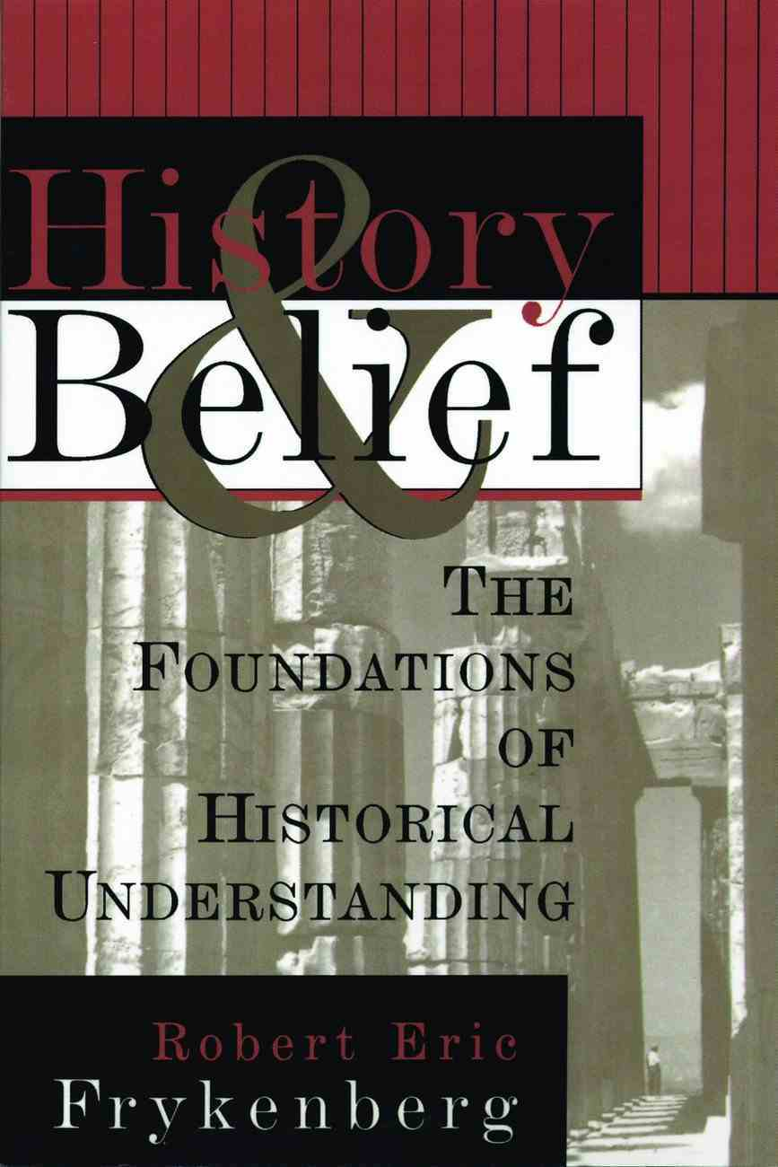 History and Belief Paperback