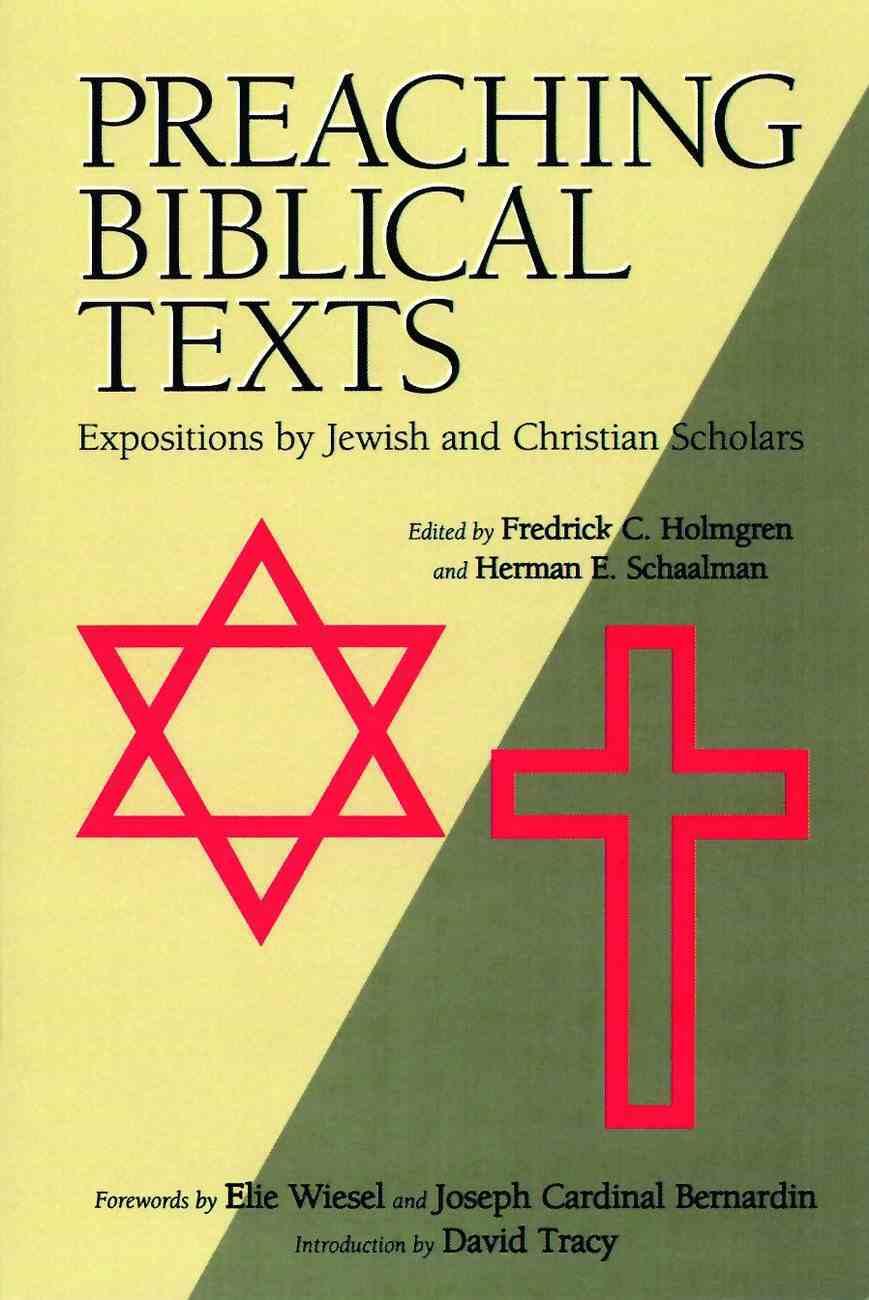 Preaching Biblical Texts Paperback