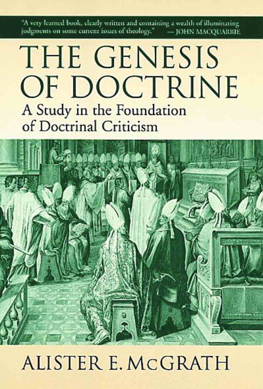 The Genesis of Doctrine Paperback