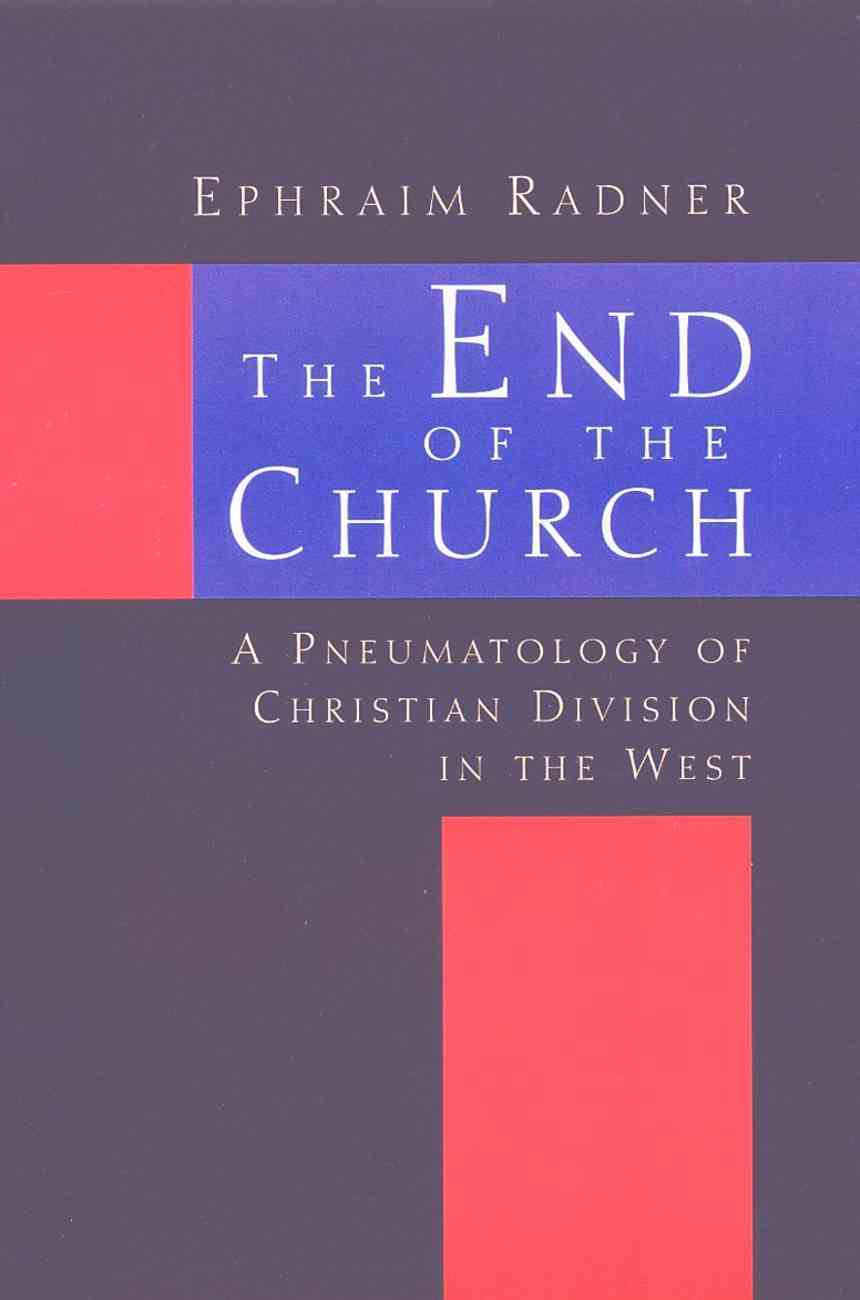 The End of the Church Paperback